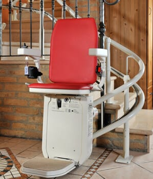 Curved Stair Lifts London